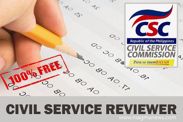 Civil Service Exam Reviewer W Answers  Free Download