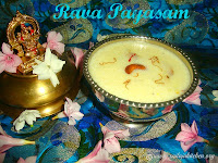 Images for Rava Payasam / Sooji Kheer / Suji Payasam / Semolina Kheer - A Quick & Easy Payasam.