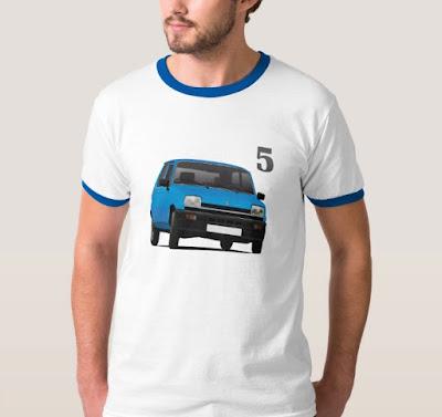 Renu vitonen - Renault 5 paidat