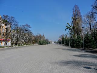 Новомосковск. Площадь Героев