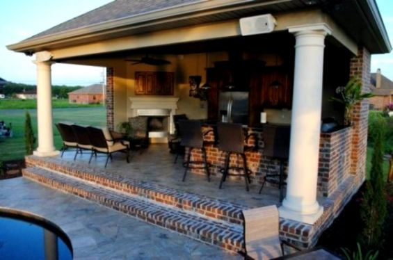 Outdoor Kitchen Designs With Pool | Wallpapers Simple