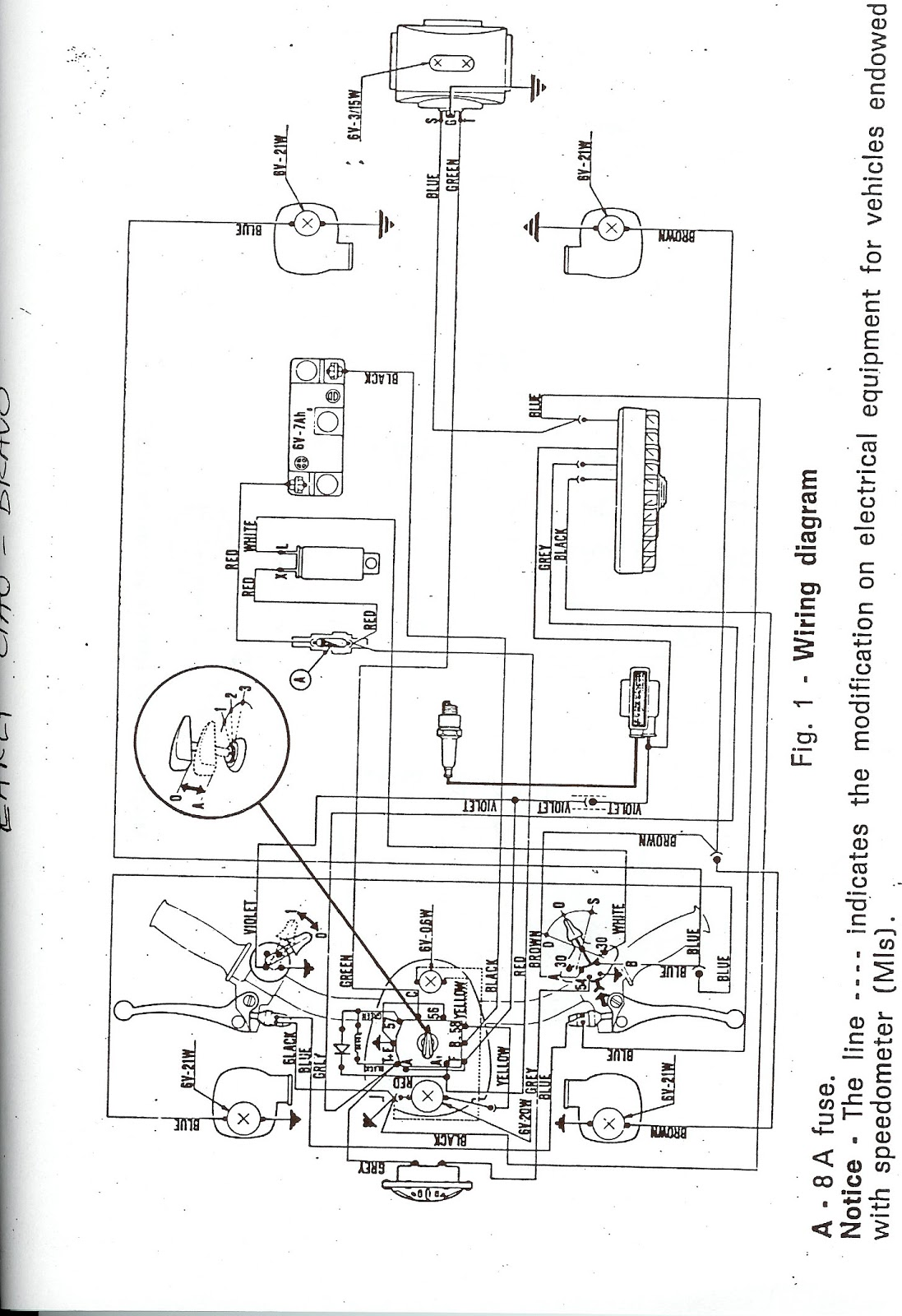 wiring diagram for vespa px
