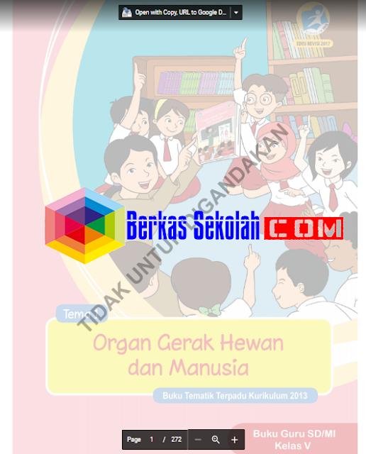 Buku Kelas 5 Kurikulum 2013 Revisi Tahun 2017 SD/MI