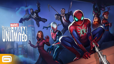 Marvel Spider-Man Unlimited Mod (Max Energy) Apk + OBB Download