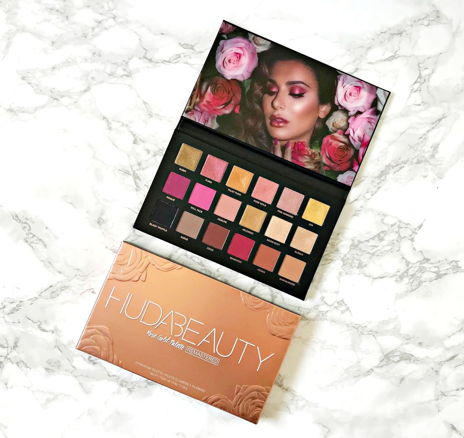Huda Beauty Rose Gold Remastered Palette Review & Swatches