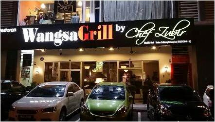 The blogger side of me: Smoking hot Wangsa Grill