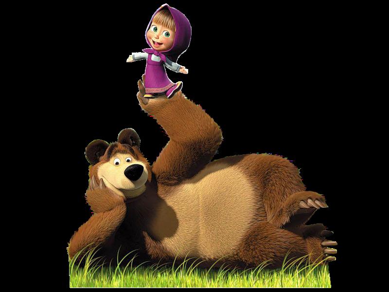 Ba de imagens Masha e o urso png