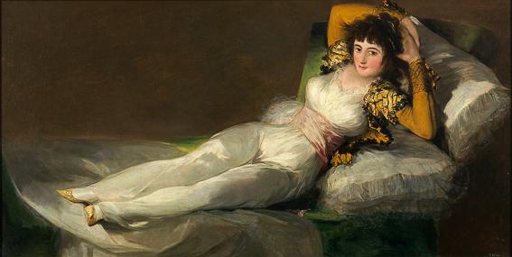La maja vestida Goya Museo Prado