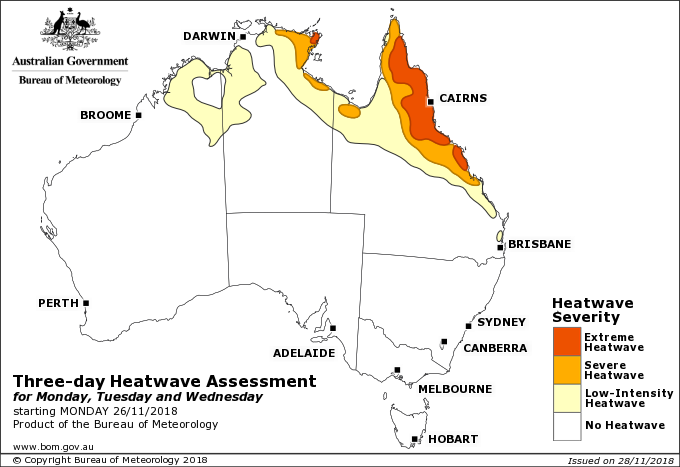 Queensland's Catastrophic bushfire, extreme heatwave and
