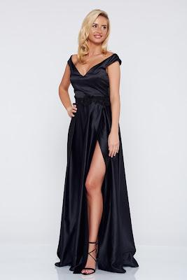 vestidos largos con cola