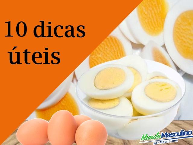 10 Dicas úteis para adeptos a dieta do ovo Cozido para emagrecer