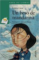 mejores cuentos y libro niños 8 a 11 años, recomendados imprescindibles, Un beso de mandarina