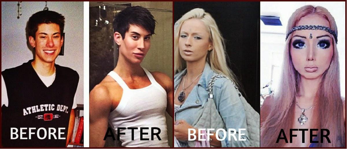 Valeria lukyanova pictures antes y despues de adelgazar