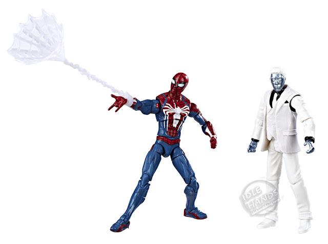 Hasbro Marvel Spider-Man Gamerverse Action Figures Spider-Man and Mister Negative