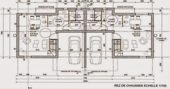Realisation des plans d 39 une construction simple for Plans et dessins de construction