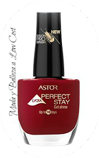 Review Perfect Stay Gel Shine - Red My Mood 307