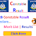 Lokrakshak Recruitment Board Provisional result for the post of Lok Rakshak (Constable) & Jail Sipahi 2017