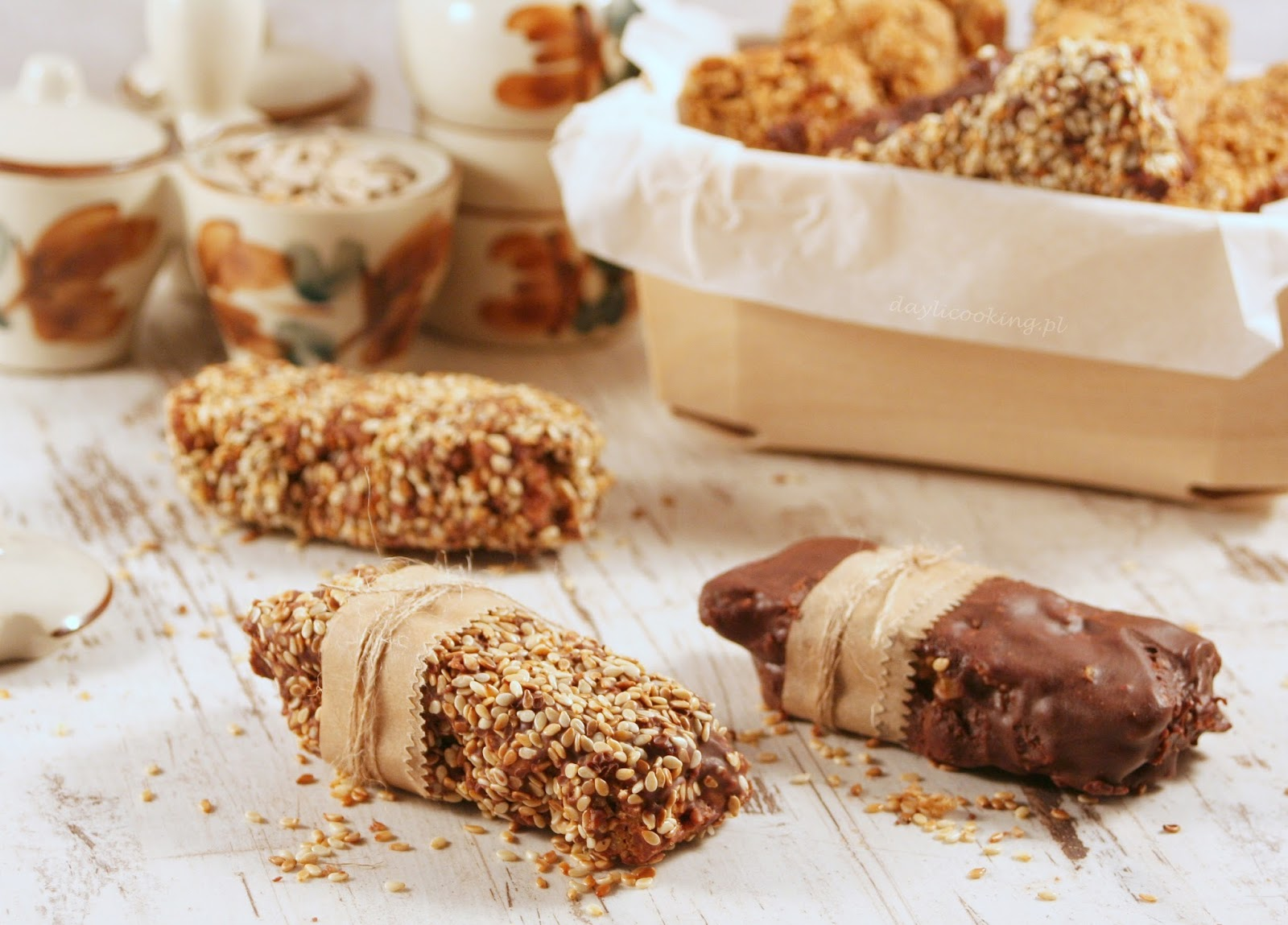 zdrowe domowe słodycze, sprawdzony przepis na domowe batoniki, daylicooking