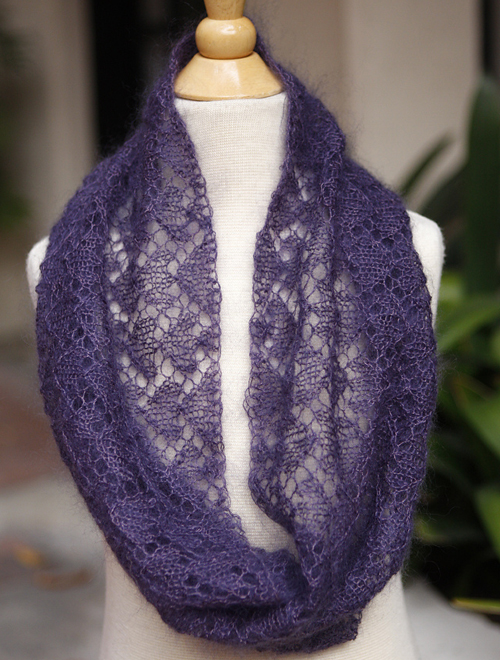 Circle of Love Lace Cowl - Free Pattern