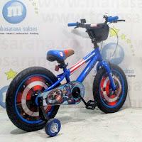 Sepeda Anak Element Captain America