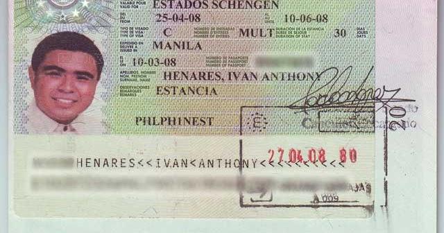 Europe Applying For A Schengen Visa In The Philippines