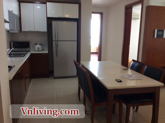 The Manor apartment for rent 3 bedrooms 124sqm block AW in Binh Thanh District