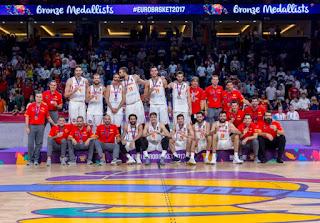 BALONCESTO (EuroBasket 2017) - España consigue el bronce tras derrotar a Rusia en la despedida de Navarro