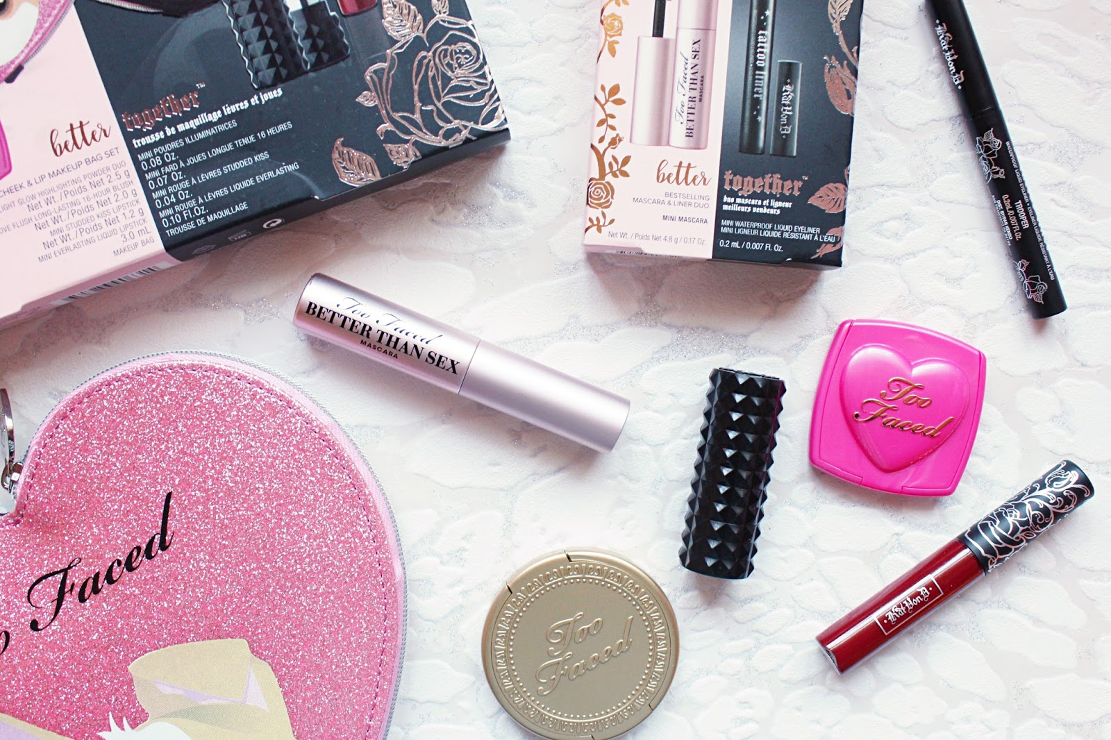 Too Faced x Kat Von D Better Together Collection | Hannah Heartss