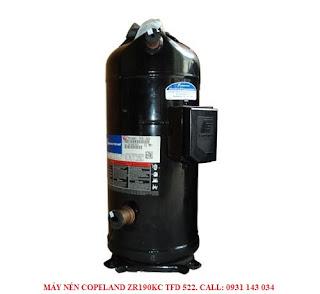 **Mua máy nén lạnh Copeland ZR190-15HP hàng chính hãng. Gọi: 0931 143 034 **