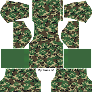 kit tentara dream league soccer