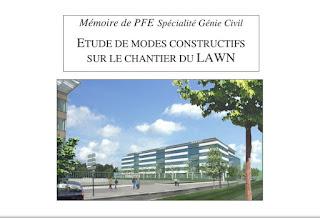 Mémoire de PFE sur les modes constructifs d'un batiment R+6