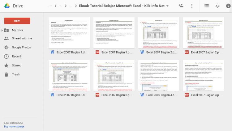 Tutorial Dasar Belajar Microsoft Excel Dilengkapi Download