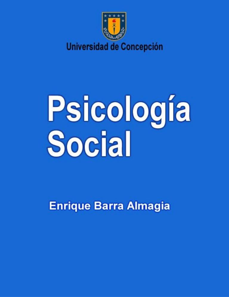 LIBROS DE PSICOLOGIA SOCIAL PDF DOWNLOAD