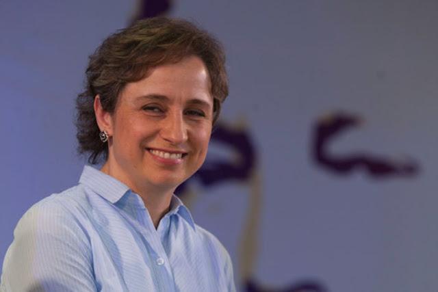México está desbordado por la corrupción: Carmen Aristegui