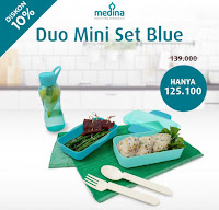 Dusdusan Duo Mini Set Blue ANDHIMIND