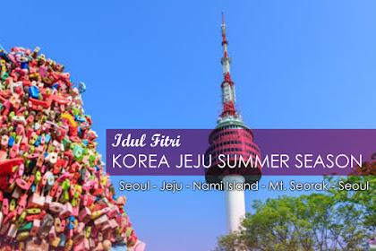 Idul Fitri Korea Jeju Summer Season 06 Juni 2019