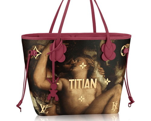 www.Tinuku.com Jeff Koons and Louis Vuitton actualize Da Vinci, Van Gogh, Fragonard, Titian and Rubens