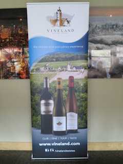 Vineland Estates Wine Tasting at Opus Restaurant