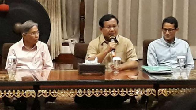 40 Ekonom Termasuk Kwik Kian Gie, Susun Konsep untuk Prabowo