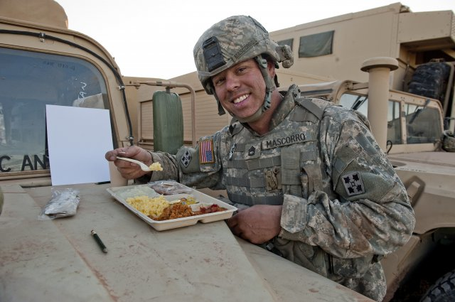 What Food Do Soldiers Eat