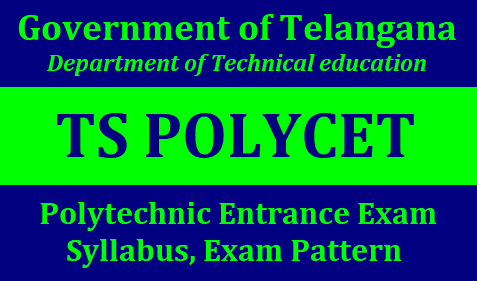 TS POLYCET 2019 Syallabus,Exam Pattern TS POLYCET 2019 syllabus and Exam Pattern for TS POLYCET Exam 2019: TS POLYCET is a Polytechnic Common Entrance Test conducted by State Board of Technical Education and Training Hyderabad for admission into diploma level programes conducted in government,aided,private unaided polytechnics and polytechnics run in existing private unaided engineering colleges. Every candidate have a desire of seeking admission into Engineering/non Engineering Diploma courses can apply through online for POLYCET-2019.TS POLYCET 2019 Notification TS Polycet 2019 Syllabus, Math/Physics/Chemistry Syllabus, Exam Pattern | TS Polycet 2019 Exam Pattern, Marking Scheme, Mode, Syllabus | TS POLYCET 2019 Exam Pattern; Mode, Total Questions, Marking Scheme | TS Polytechnic Common Entrance Test (POLYCET) Exam Pattern 2019 – sbtet.telangana.gov.in | TS Polycet Syllabus 2019, Section & Subject Wise Syllabus – Check Here |TS PolyCET Syllabus 2019 | TS Polytechnic CET Exam Pattern, Eligibility /2019/01/ts-polycet-syllabus-exam-pattern-scheme-of-exam-polycetts.nic.in.html