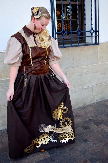 diy steampunk costume women
