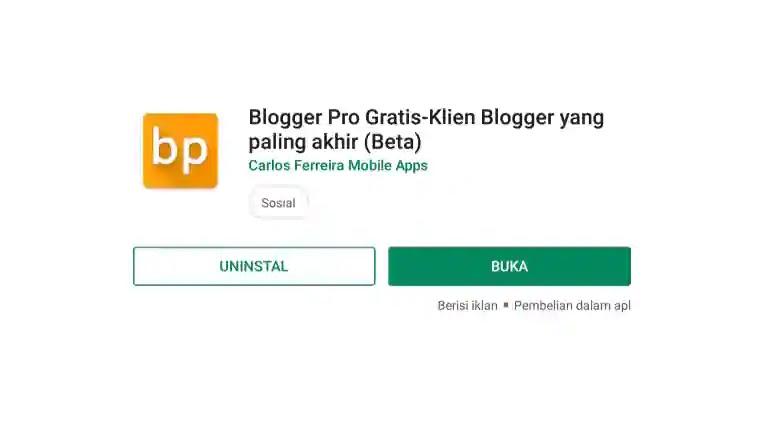 Keperluan Blogger android yang wajib digunakan