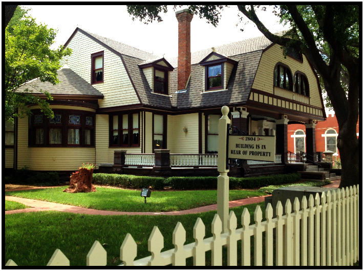 Dynamic DFW: Swiss Avenue and the very mysterious Wilson House