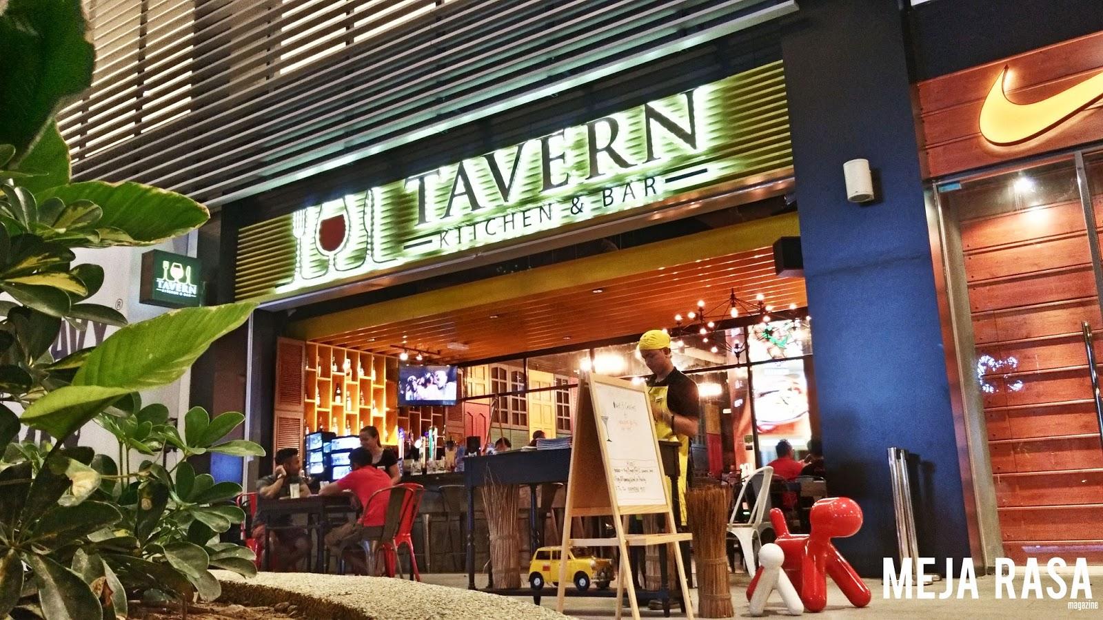 Meja rasa kk tavern kitchen bar imago shopping mall