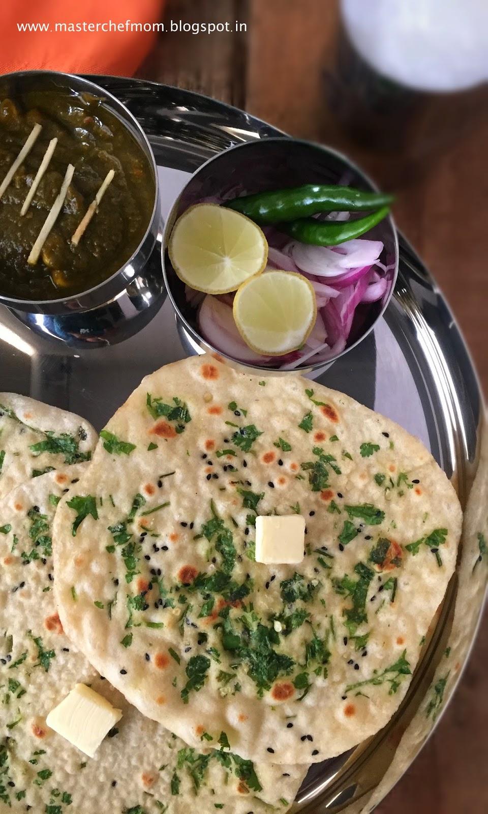 Masterchefmom amritsari kulcha speciality flatbreads for Amritsari cuisine