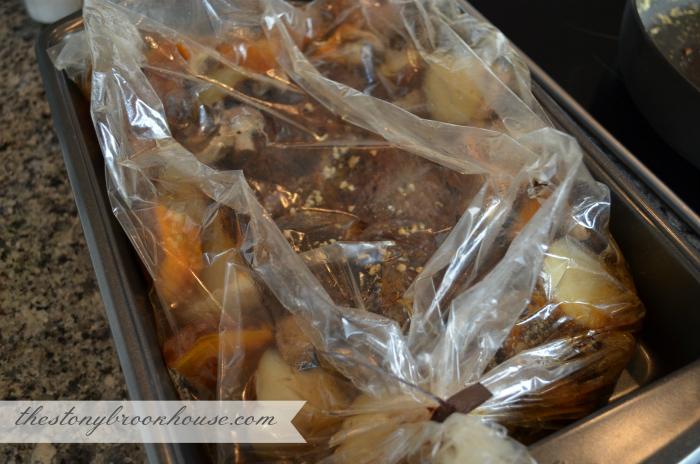 Easy Pot Roast in Oven Bag