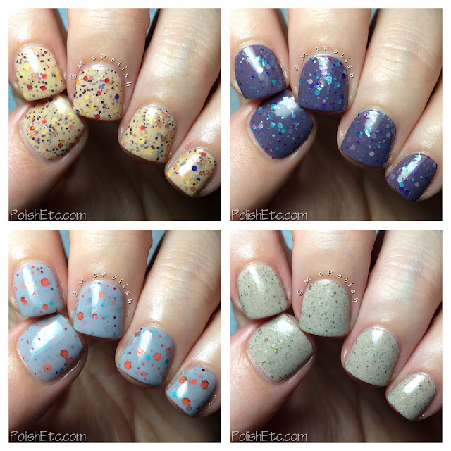 KBShimmer Winter 2015 Crelly Polishes - McPolish