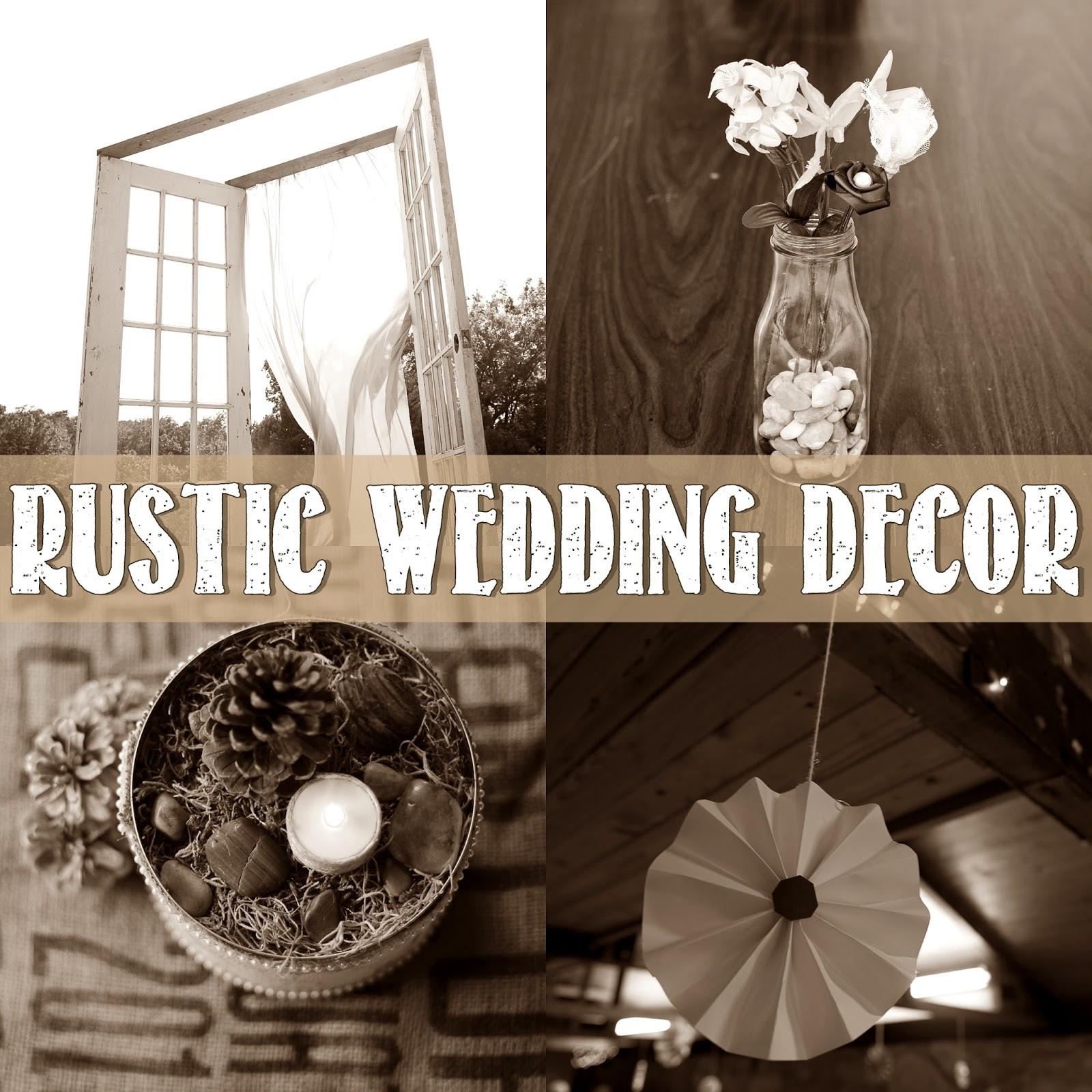 Rustic Door Wedding Ideas: Let's Drink Coffee, Darling: Our Wedding Decor