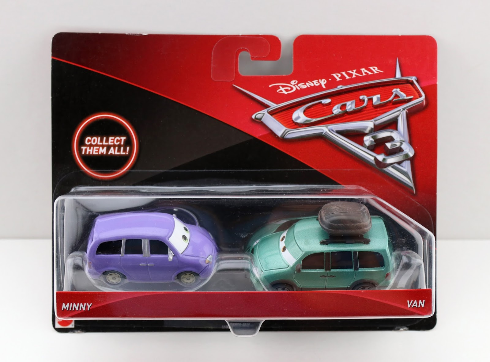 Cars 3: Minny & Van 2-Pack